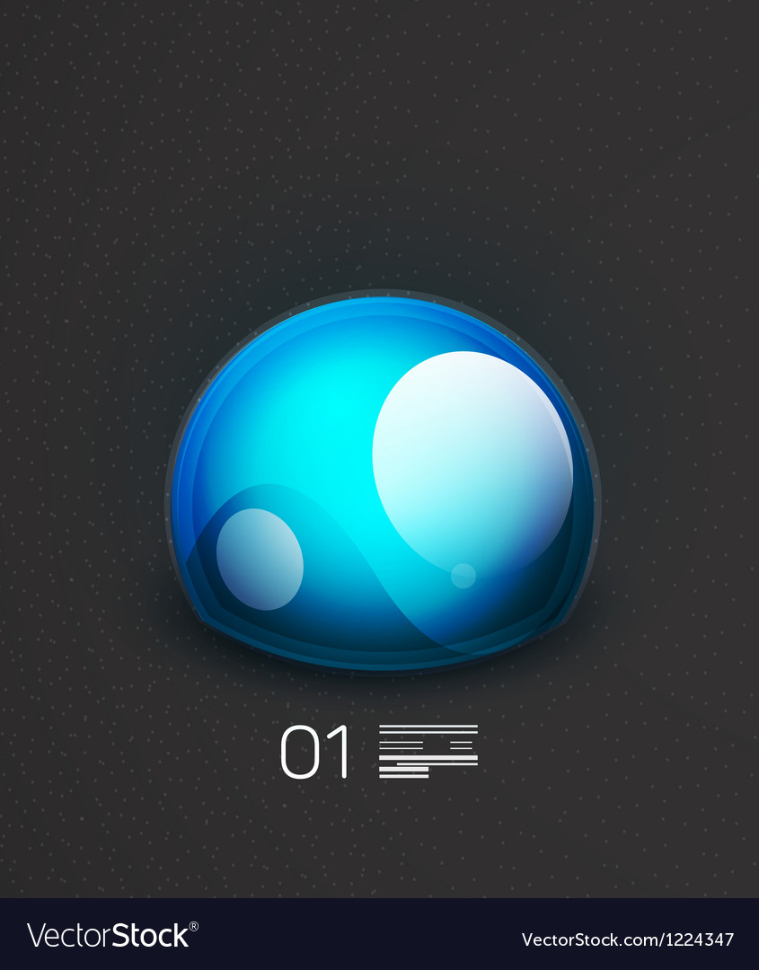 Blue globe concept design template vector   Price: 1 Credit (USD $1)