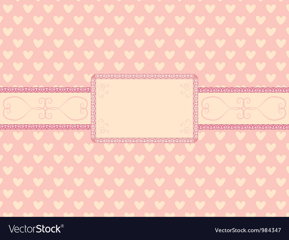 Day of valentine background vector | Price: 1 Credit (USD $1)