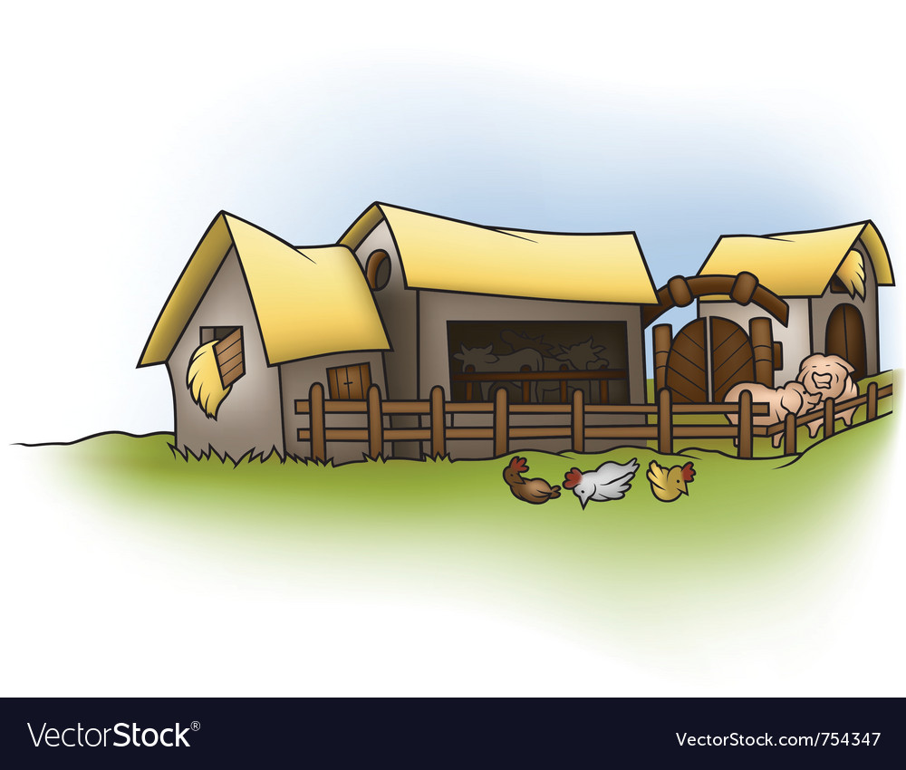Farm vector | Price: 1 Credit (USD $1)