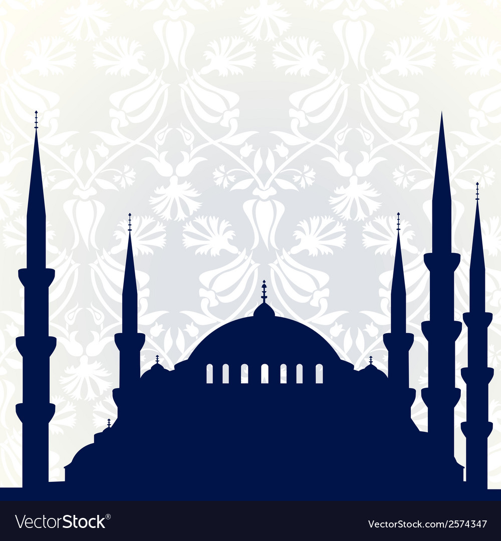 Mosque vector | Price: 1 Credit (USD $1)