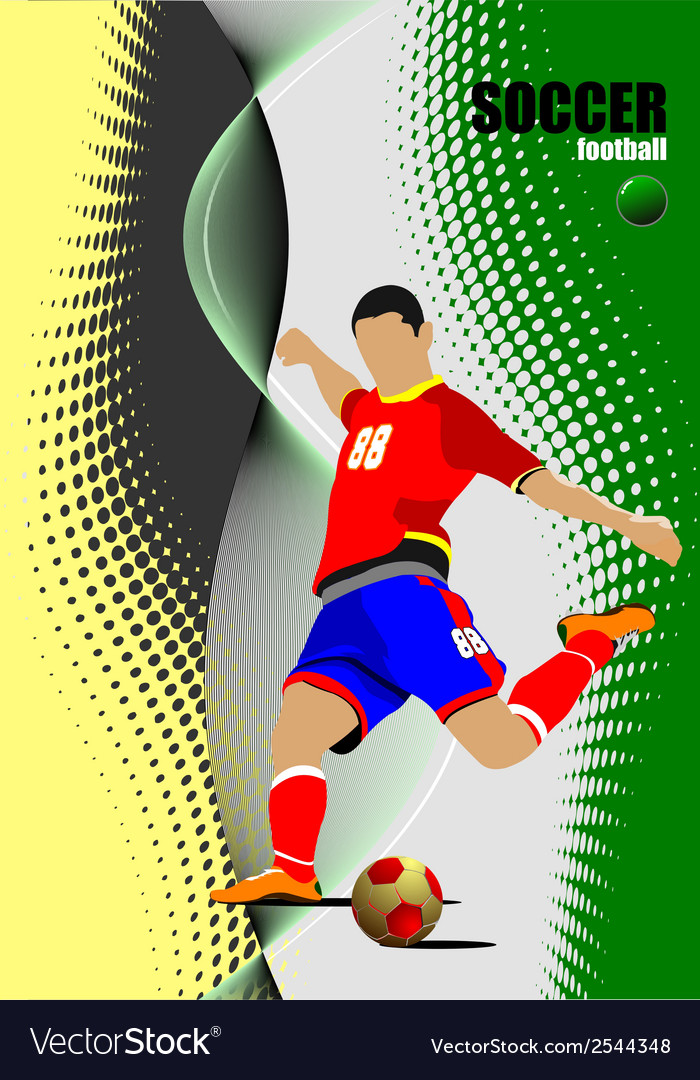 Al 1001 soccer 03 vector | Price: 1 Credit (USD $1)