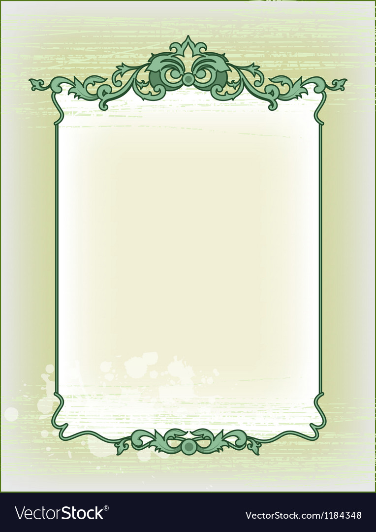 Imperial frame grunge background vector | Price: 1 Credit (USD $1)