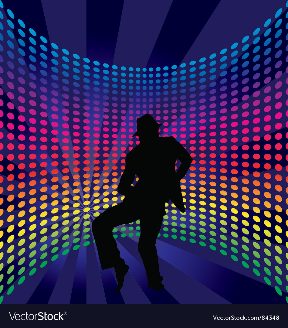 Nightclub dancer vector | Price: 1 Credit (USD $1)