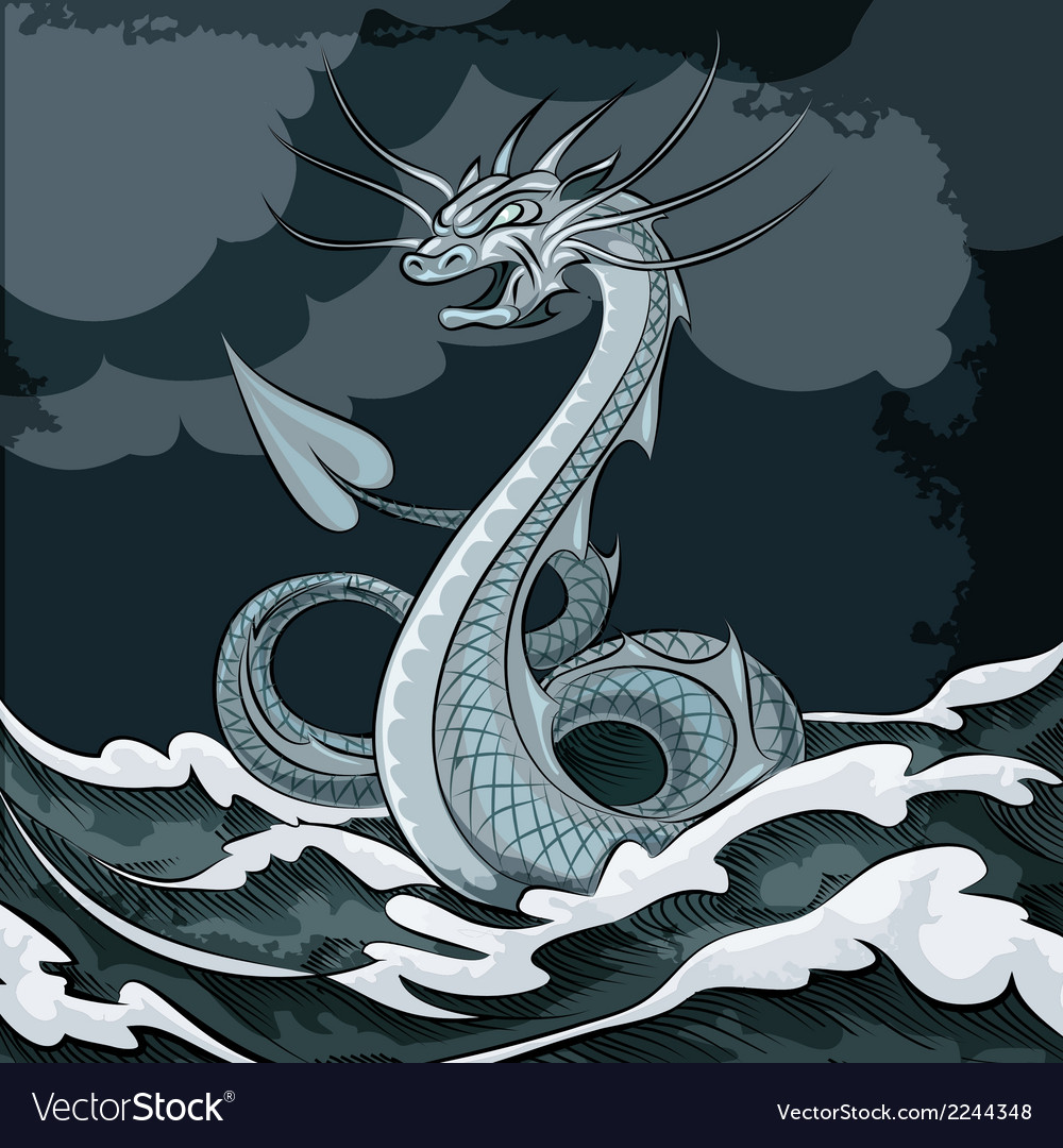 Sea dragon vector | Price: 1 Credit (USD $1)