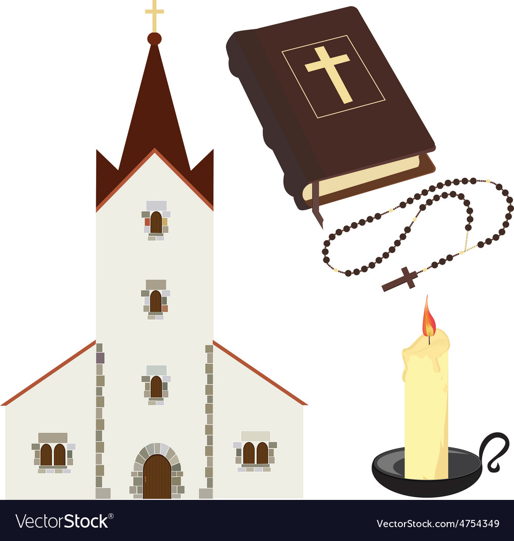 Christian set vector | Price: 1 Credit (USD $1)