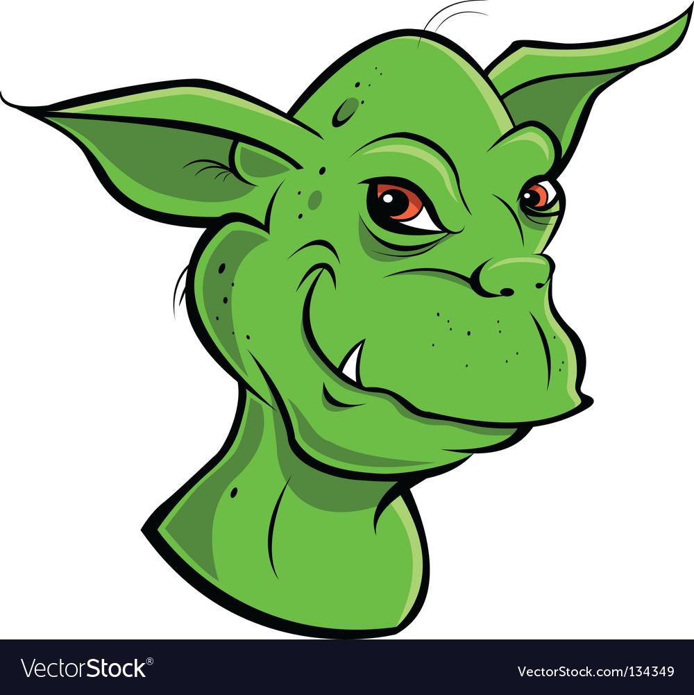 Goblin vector | Price: 1 Credit (USD $1)