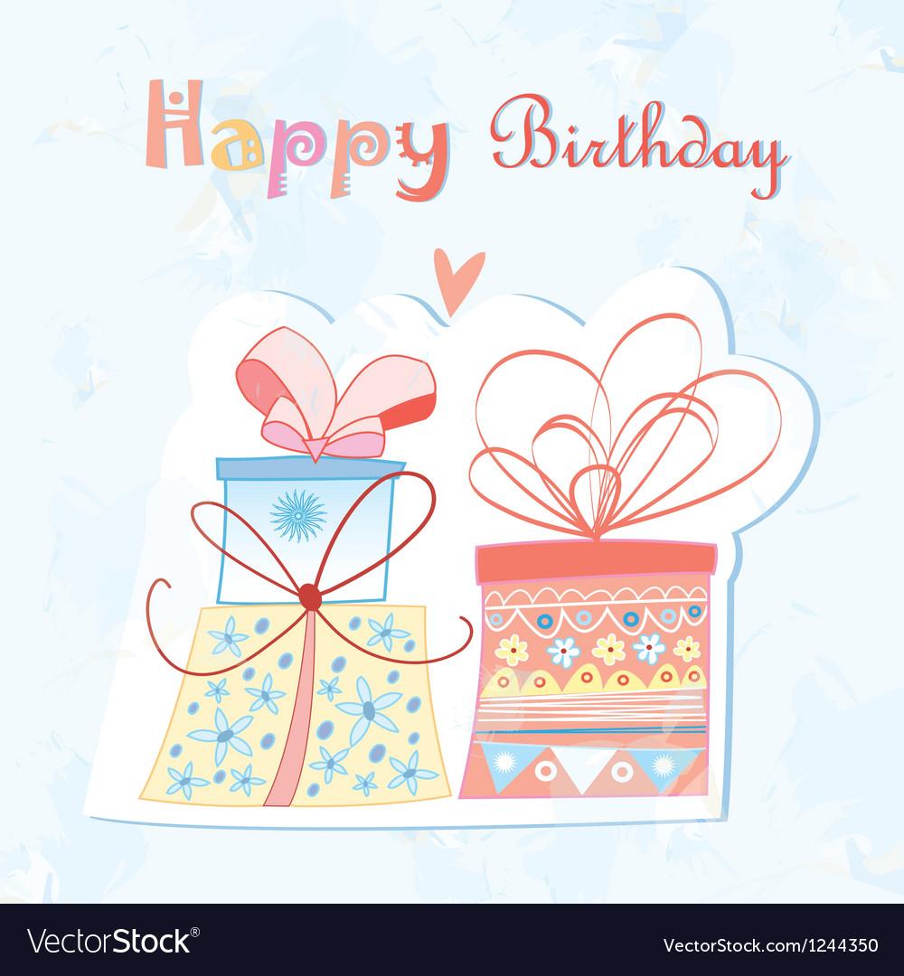 Birthday present vector   Price: 1 Credit (USD $1)