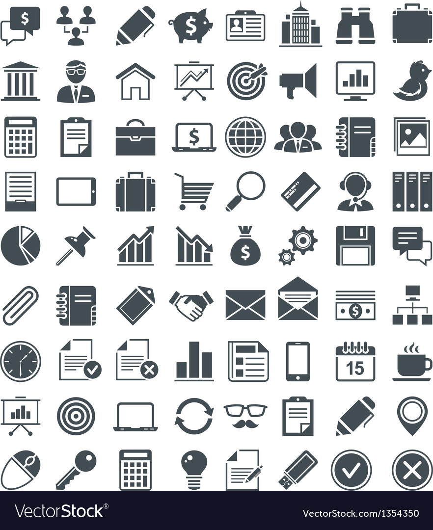Set of useful icons vector | Price: 1 Credit (USD $1)