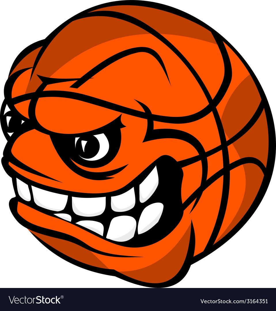 Basketball cartoon ball vector   Price: 1 Credit (USD $1)