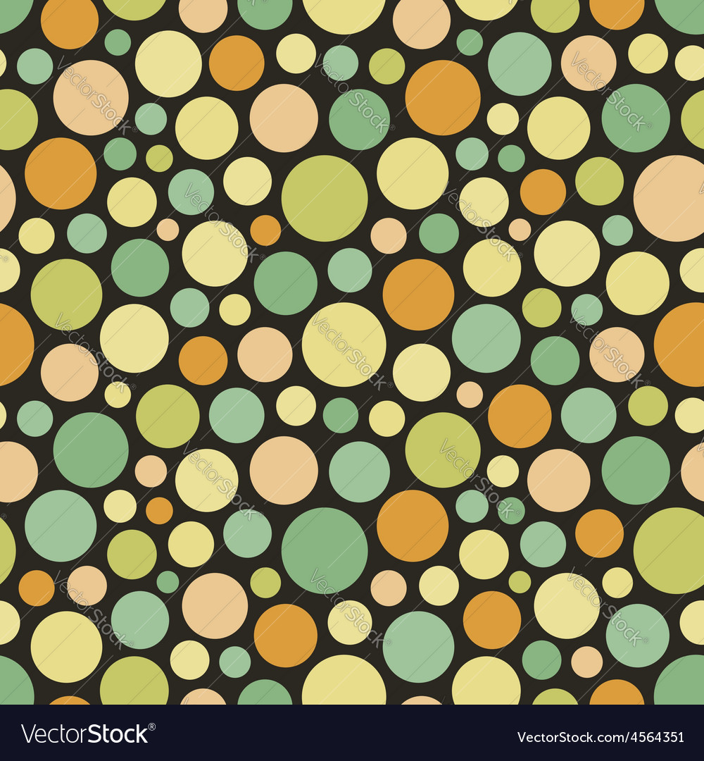 Seamless festive background from circles vector | Price: 1 Credit (USD $1)