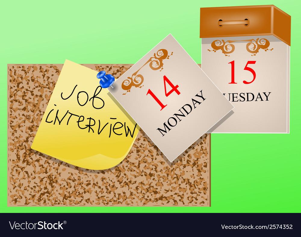 Interview job vector | Price: 1 Credit (USD $1)