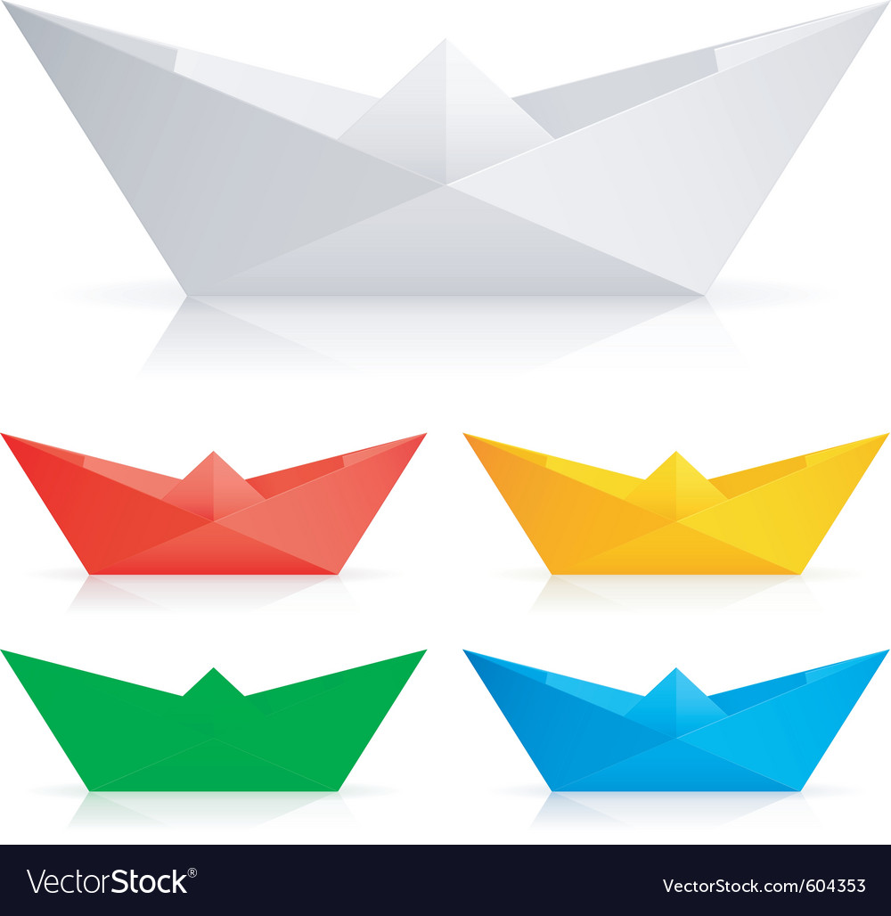 Paper ships vector | Price: 1 Credit (USD $1)