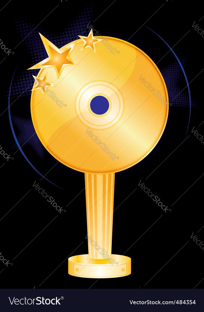 Music award vector   Price: 1 Credit (USD $1)