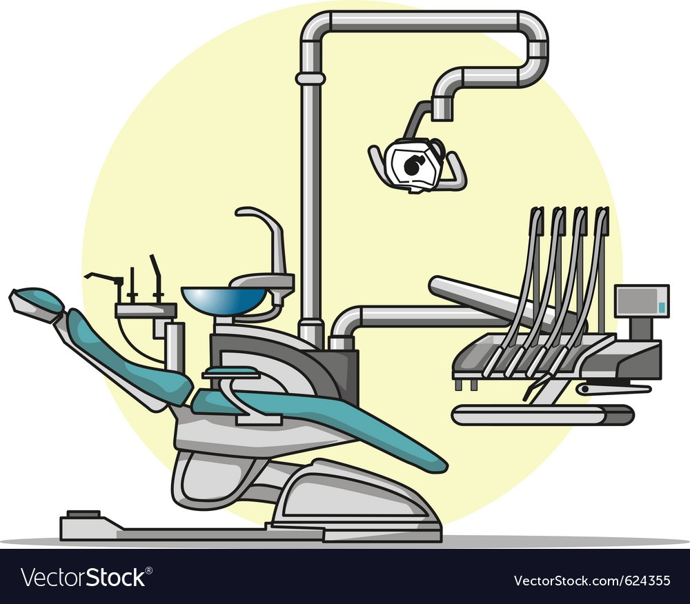 Cartoon dentist chair vector | Price: 1 Credit (USD $1)