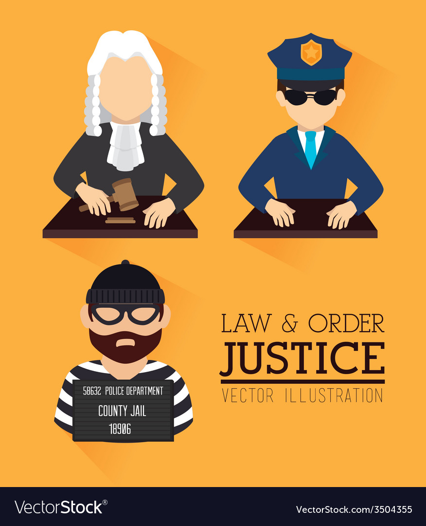 Law design vector | Price: 1 Credit (USD $1)