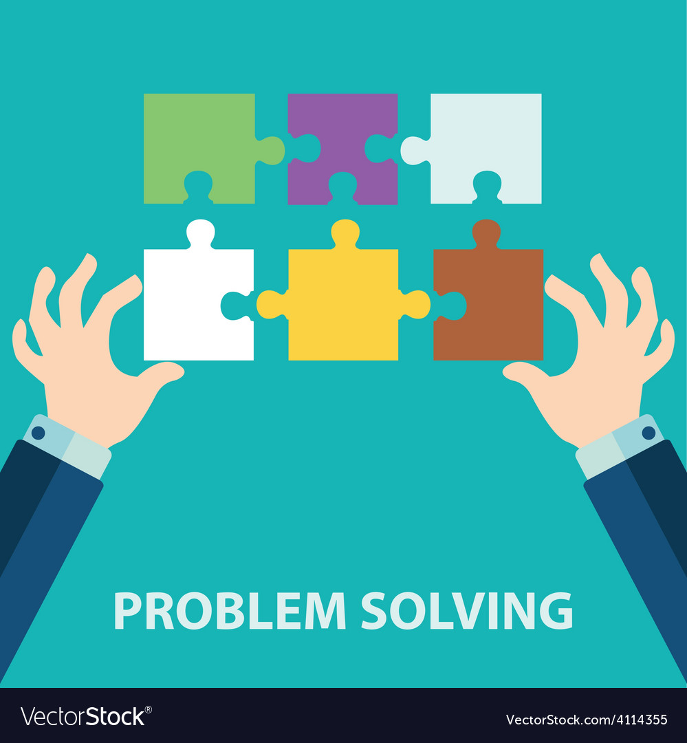 Problem solving vector | Price: 1 Credit (USD $1)