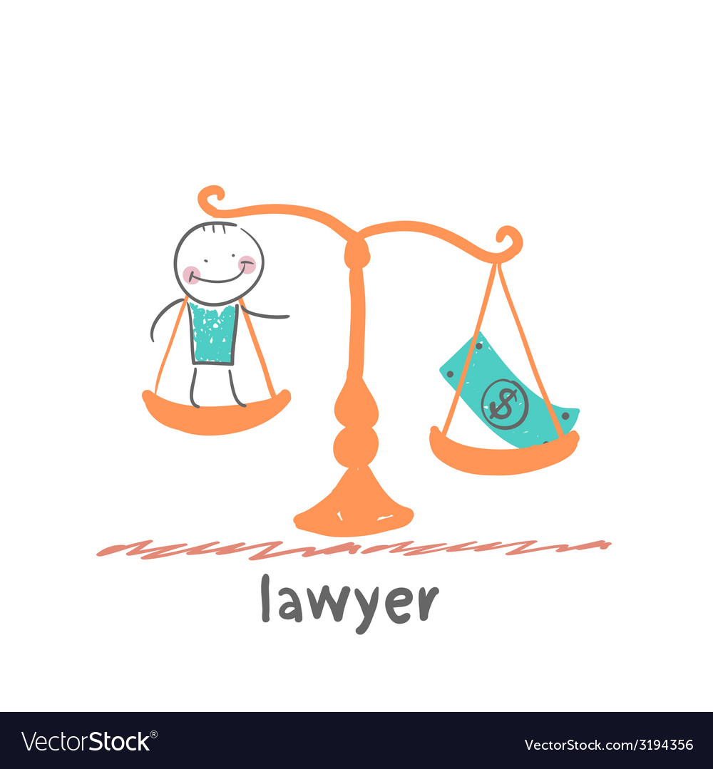 Lawyer vector | Price: 1 Credit (USD $1)