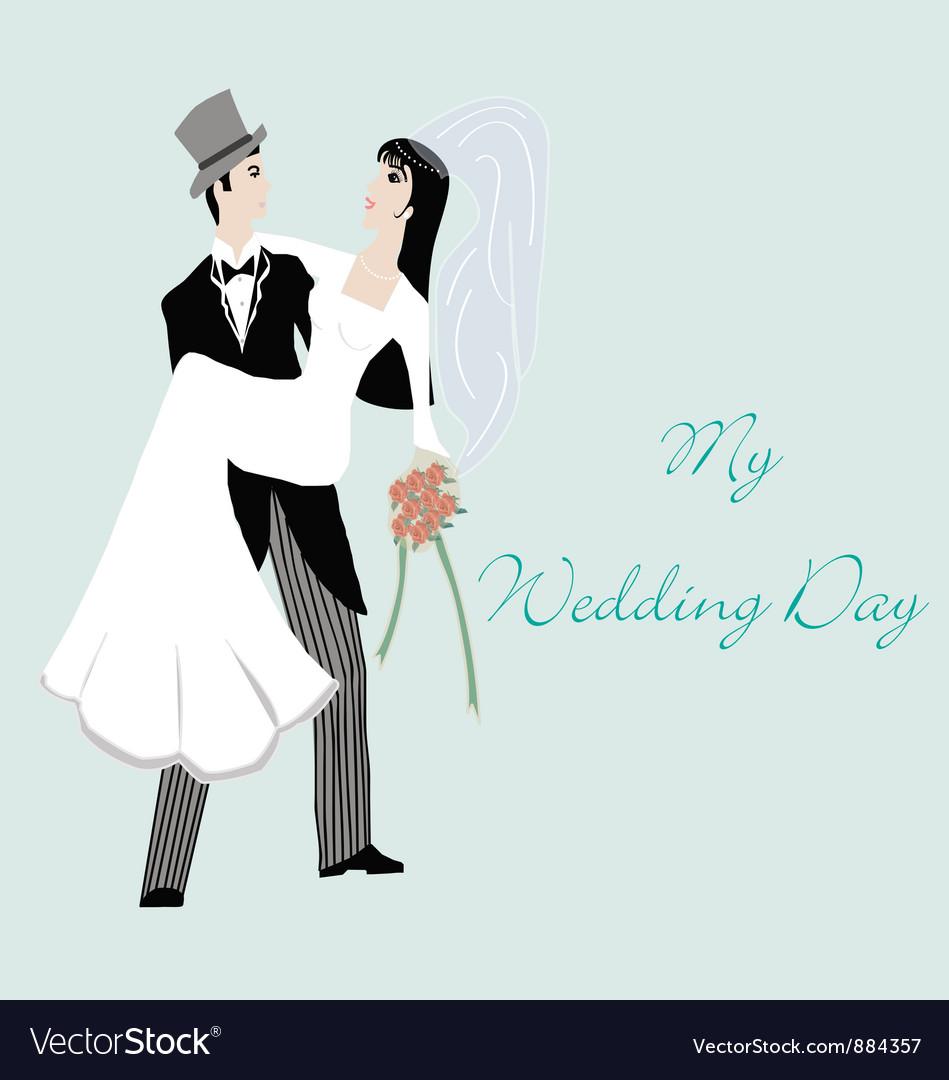 Wedding card vector | Price: 1 Credit (USD $1)