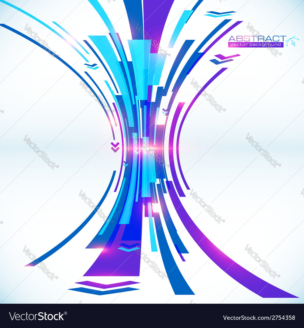 Blue abstract futuristic background vector | Price: 1 Credit (USD $1)