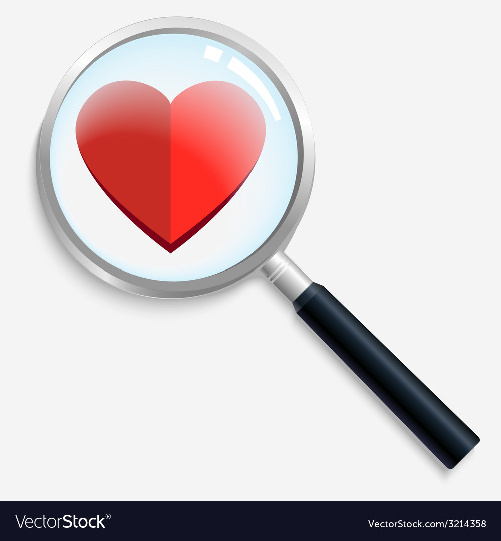 Heartsearch vector | Price: 1 Credit (USD $1)