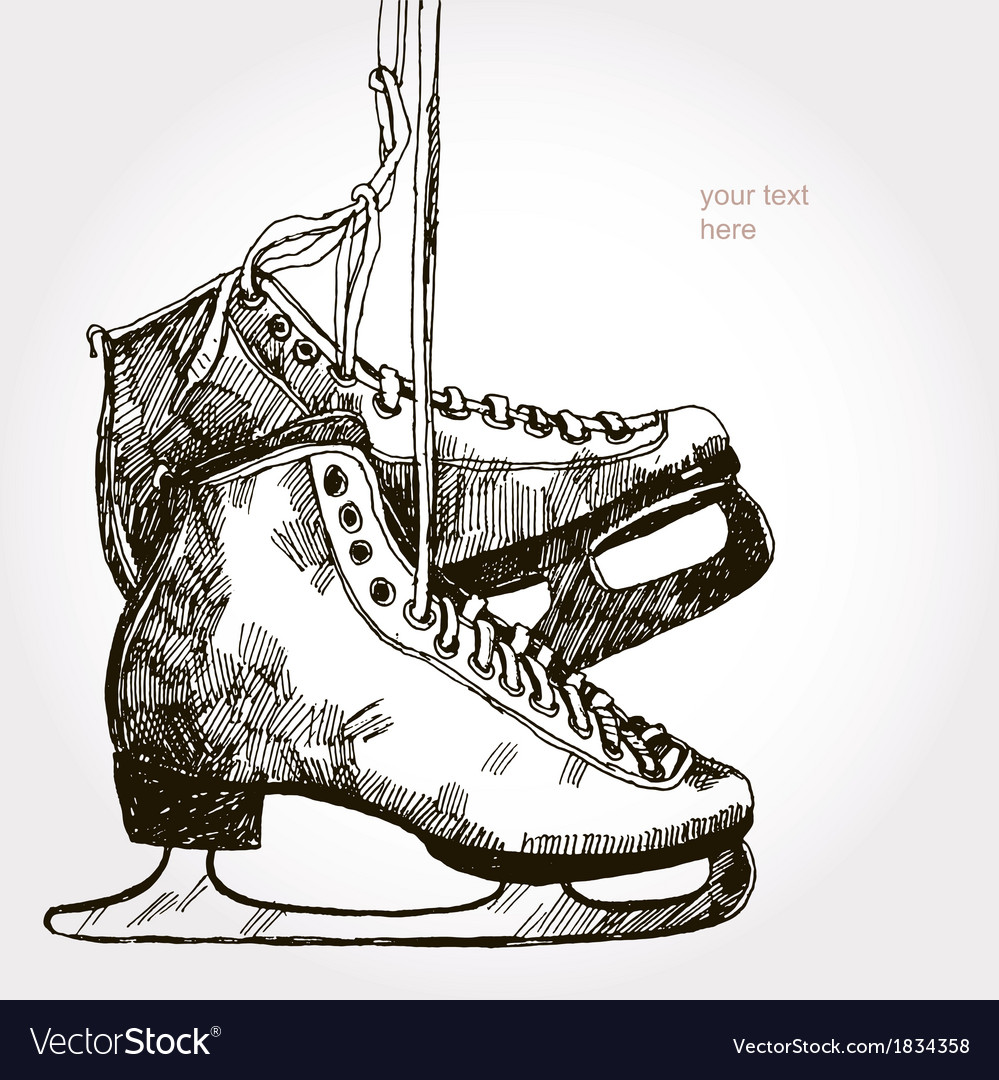 Retro skates vector | Price: 1 Credit (USD $1)