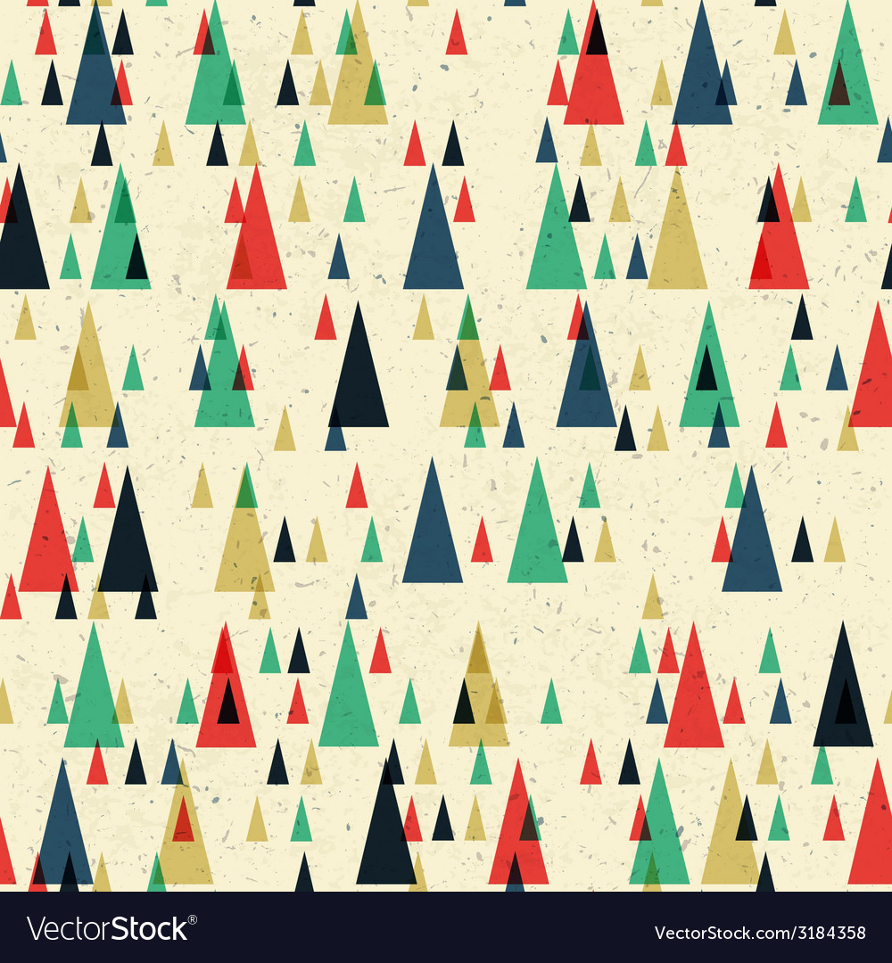 Seamless pattern colorful geometric vector | Price: 1 Credit (USD $1)