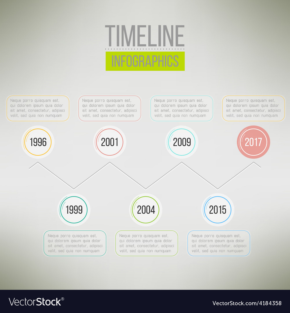 Timeline template infographic suitable for vector   Price: 1 Credit (USD $1)