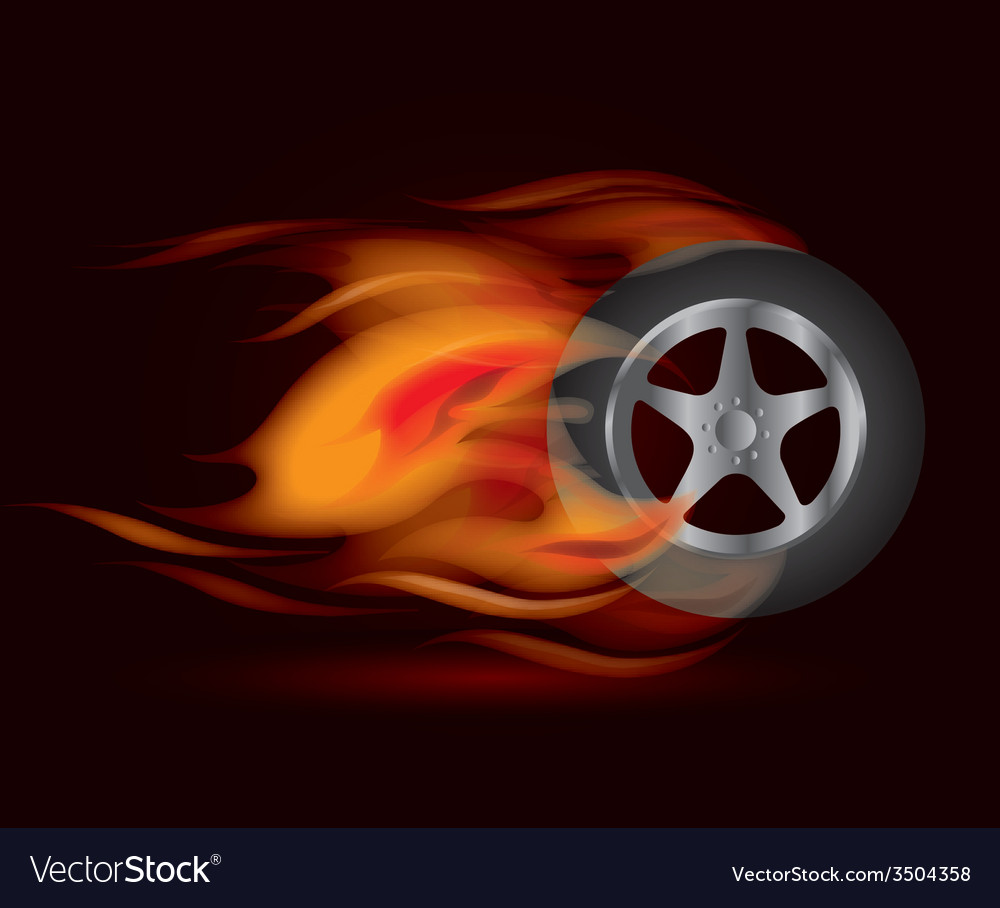Tire design vector | Price: 1 Credit (USD $1)