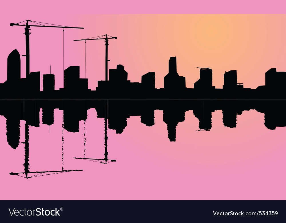 Crane construction vector | Price: 1 Credit (USD $1)
