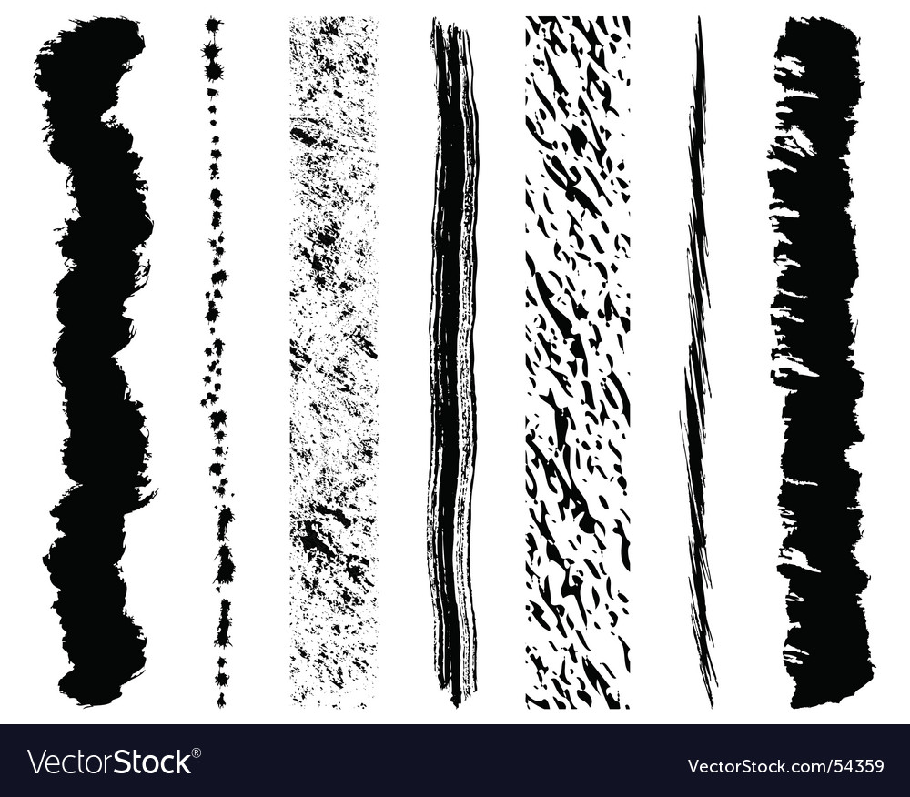 Grunge ink splashes vector | Price: 1 Credit (USD $1)