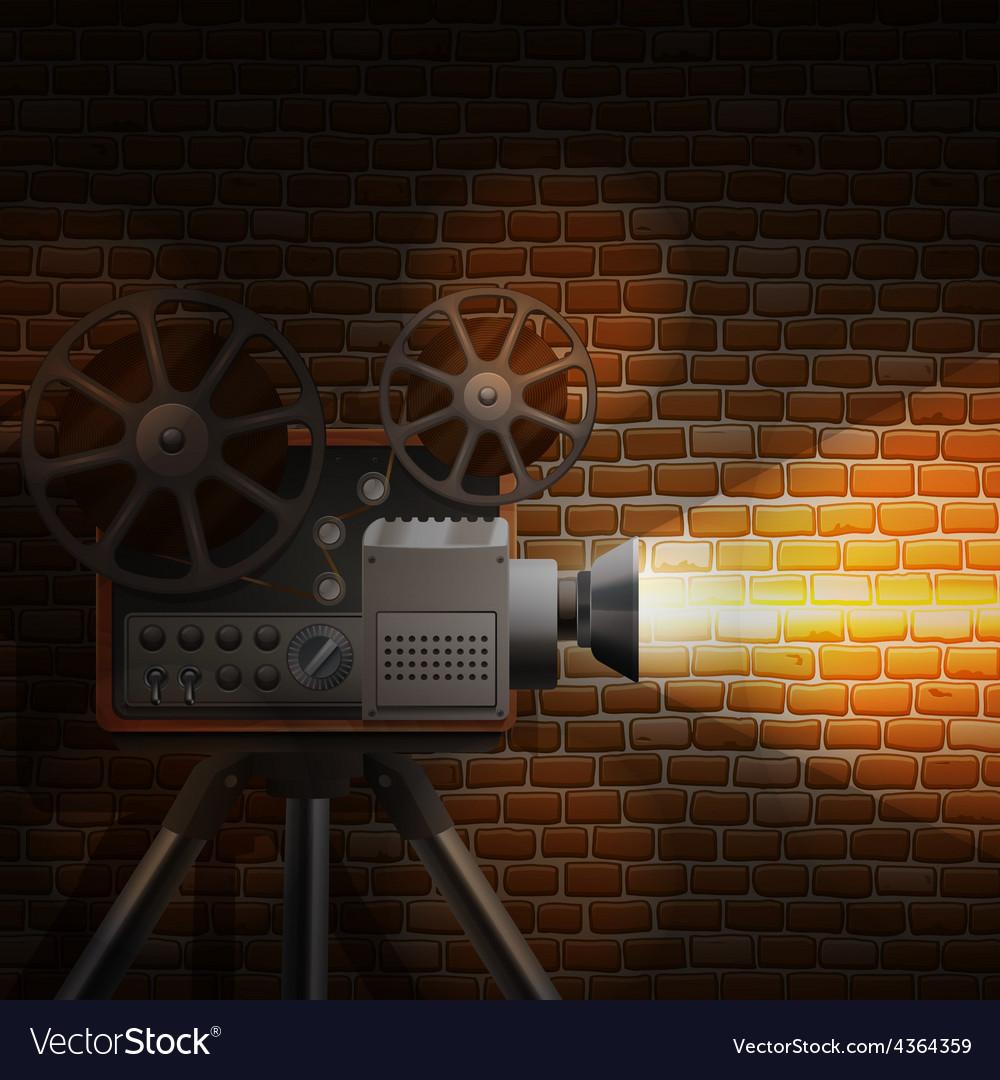 Retro film background vector   Price: 1 Credit (USD $1)