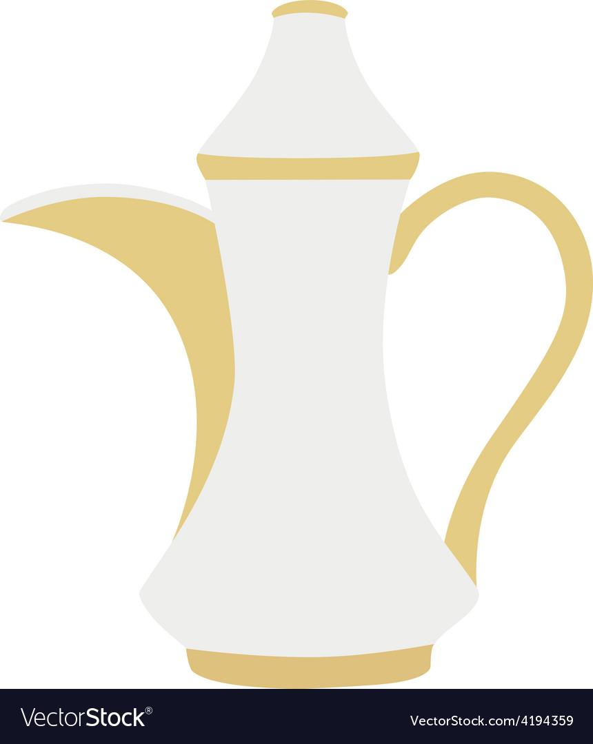 Turkish coffeepot vector | Price: 1 Credit (USD $1)