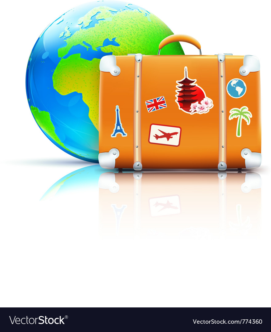 Global travel concept vector | Price: 3 Credit (USD $3)