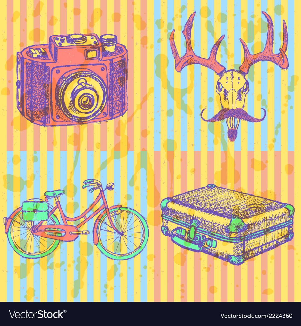 Hipster vector | Price: 1 Credit (USD $1)