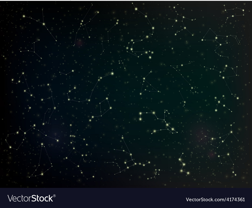Constellations vector | Price: 1 Credit (USD $1)