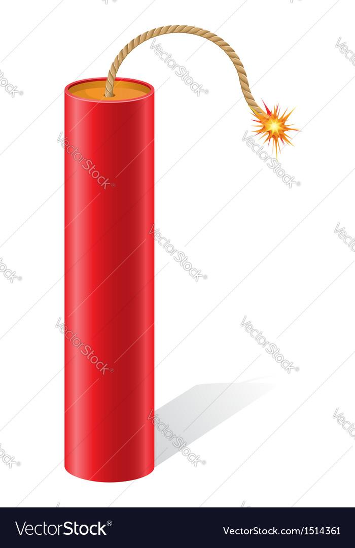 Explosive dynamite vector | Price: 1 Credit (USD $1)