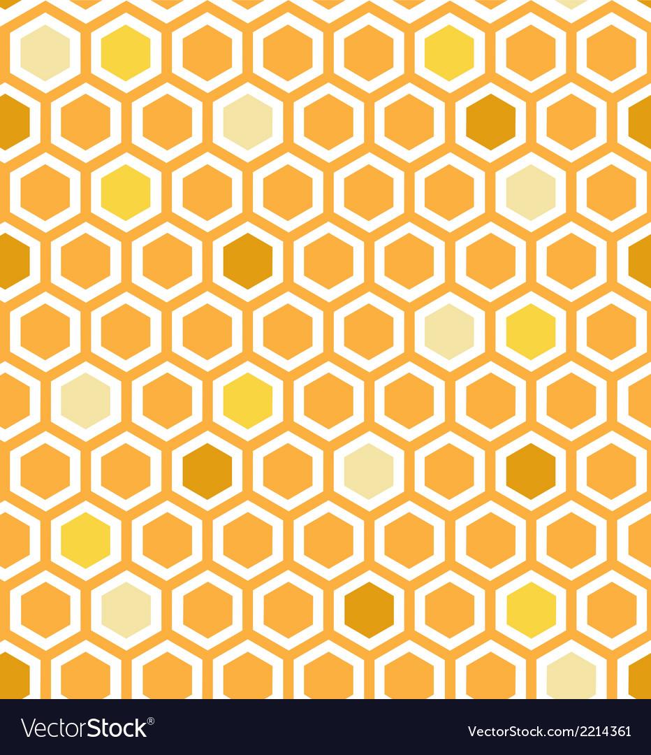 Multicolor honeycomb pattern vector | Price: 1 Credit (USD $1)