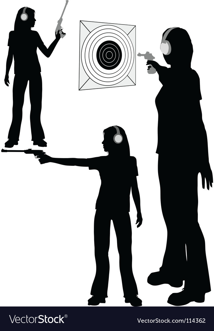 Shooting target vector | Price: 1 Credit (USD $1)