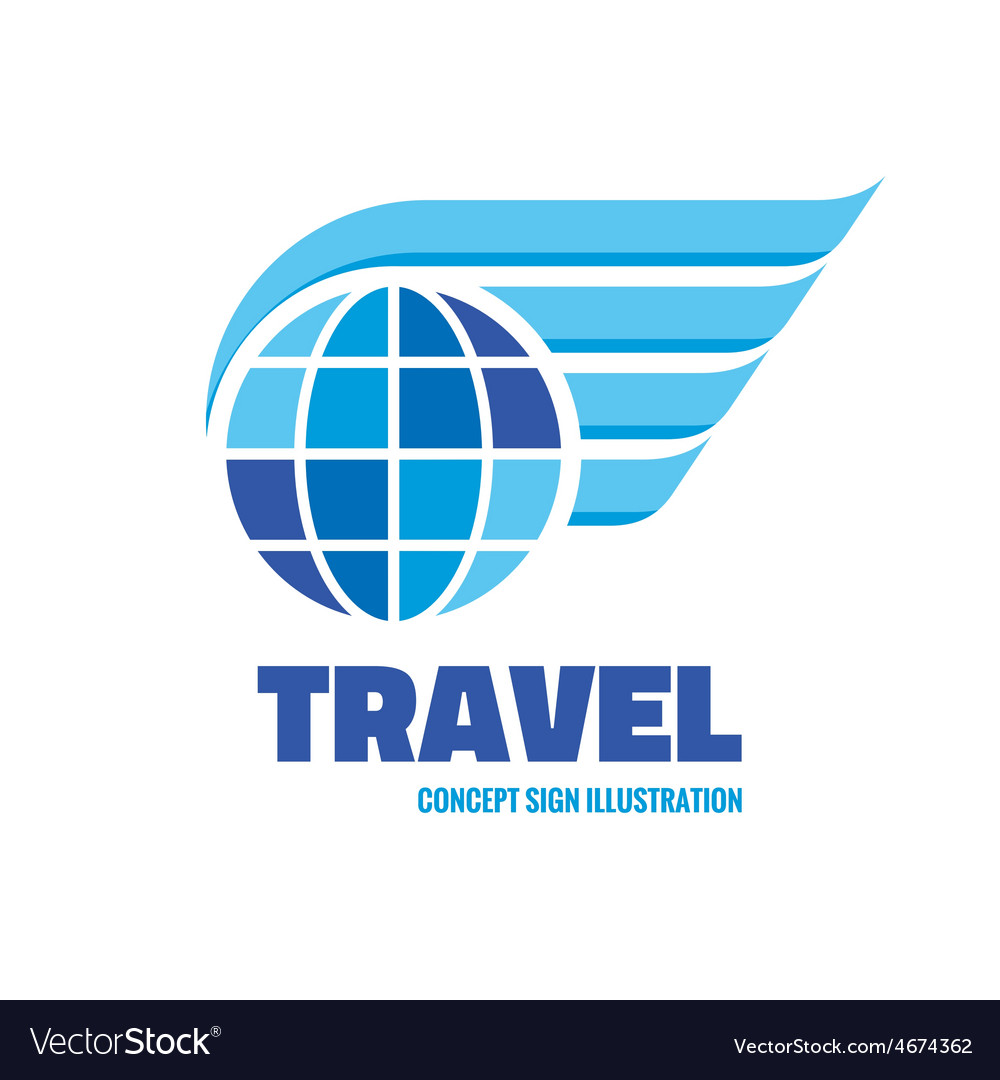Travel - logo concept vector | Price: 1 Credit (USD $1)