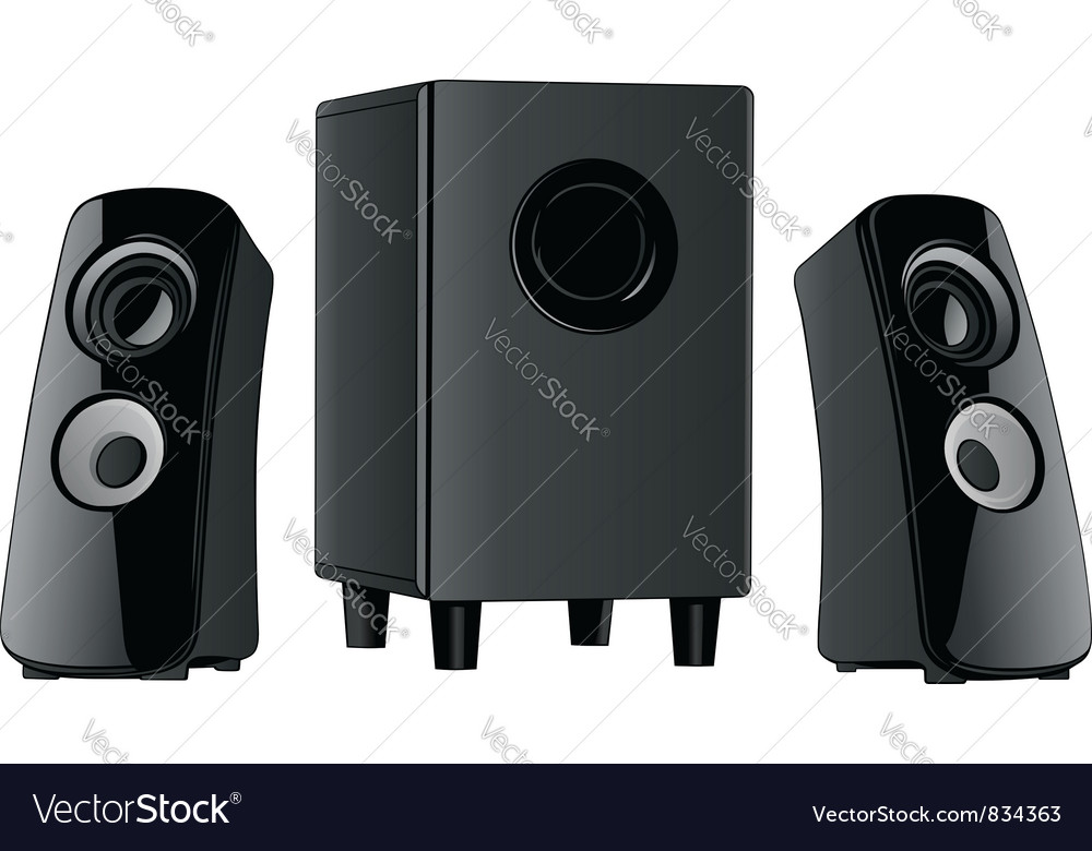 Speakers vector | Price: 3 Credit (USD $3)