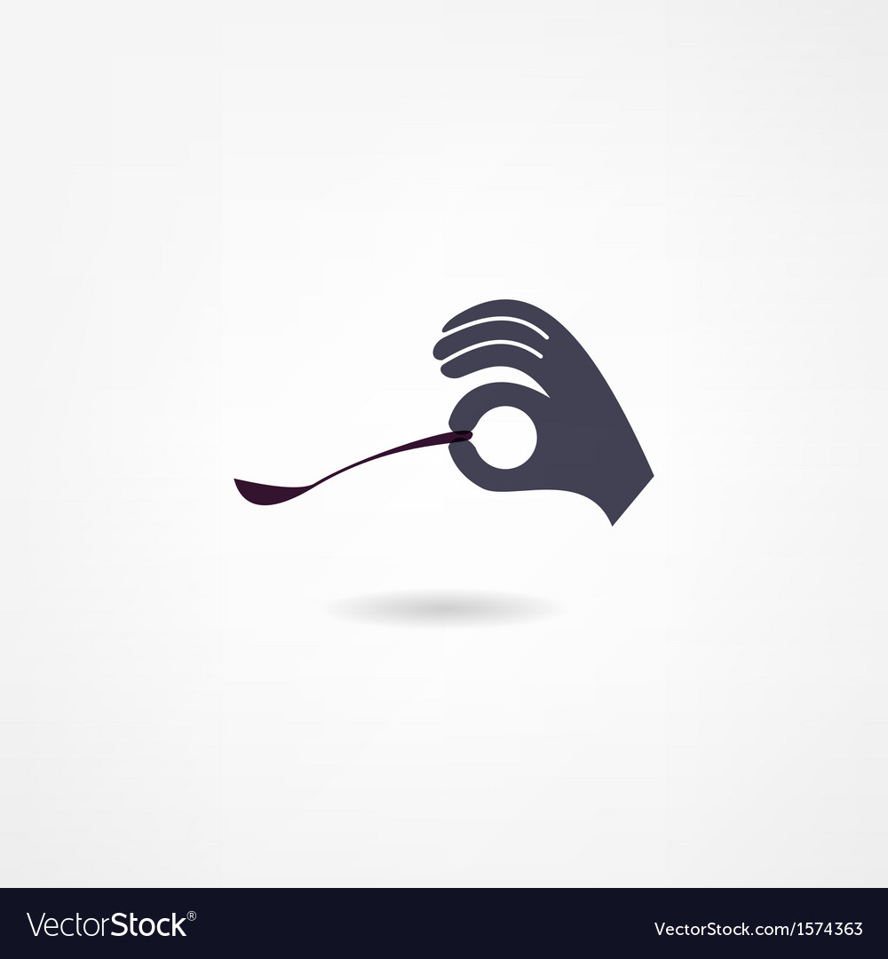Spoon icon vector | Price: 1 Credit (USD $1)