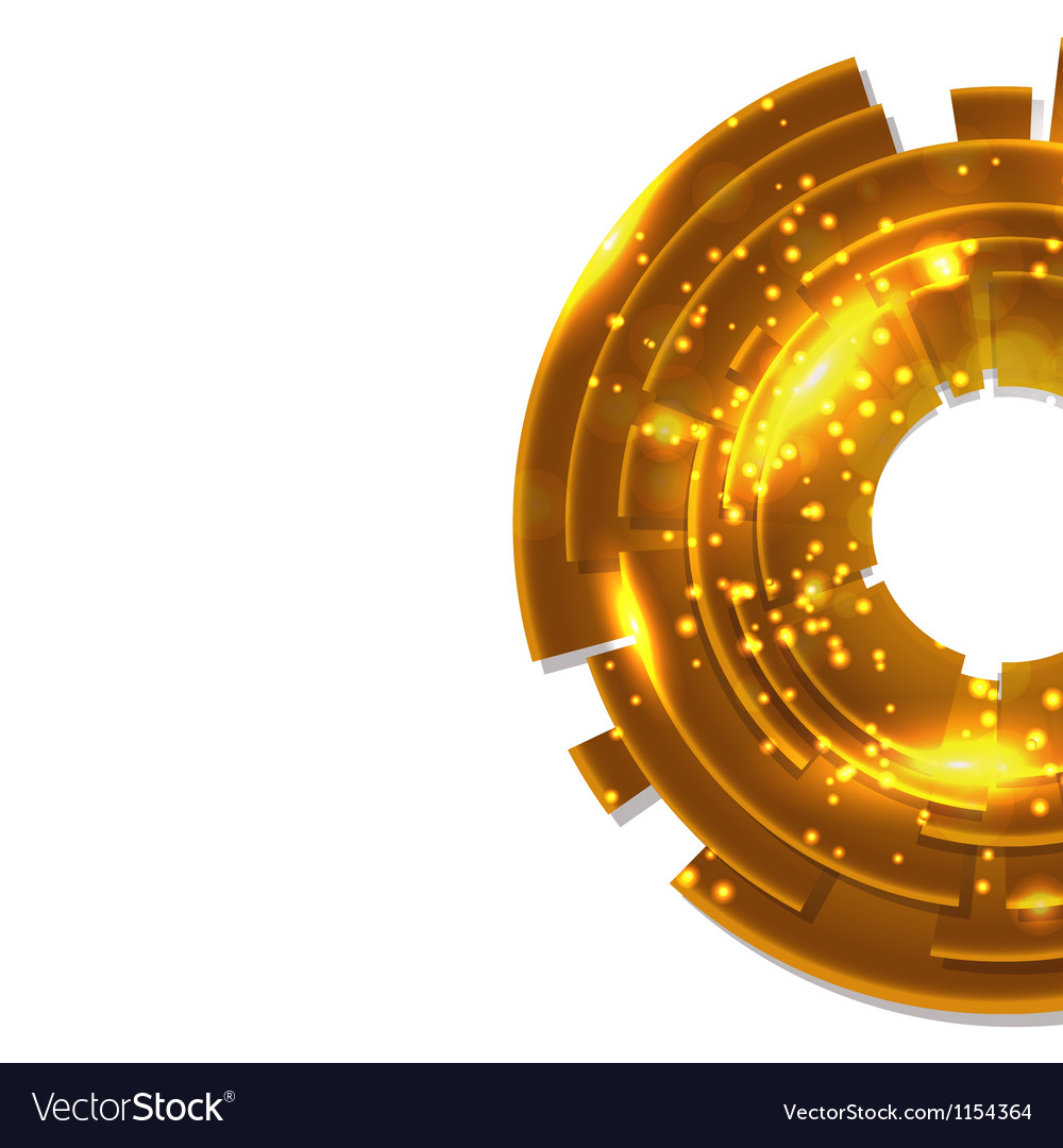 Abstract gold background with black copy space vector | Price: 1 Credit (USD $1)