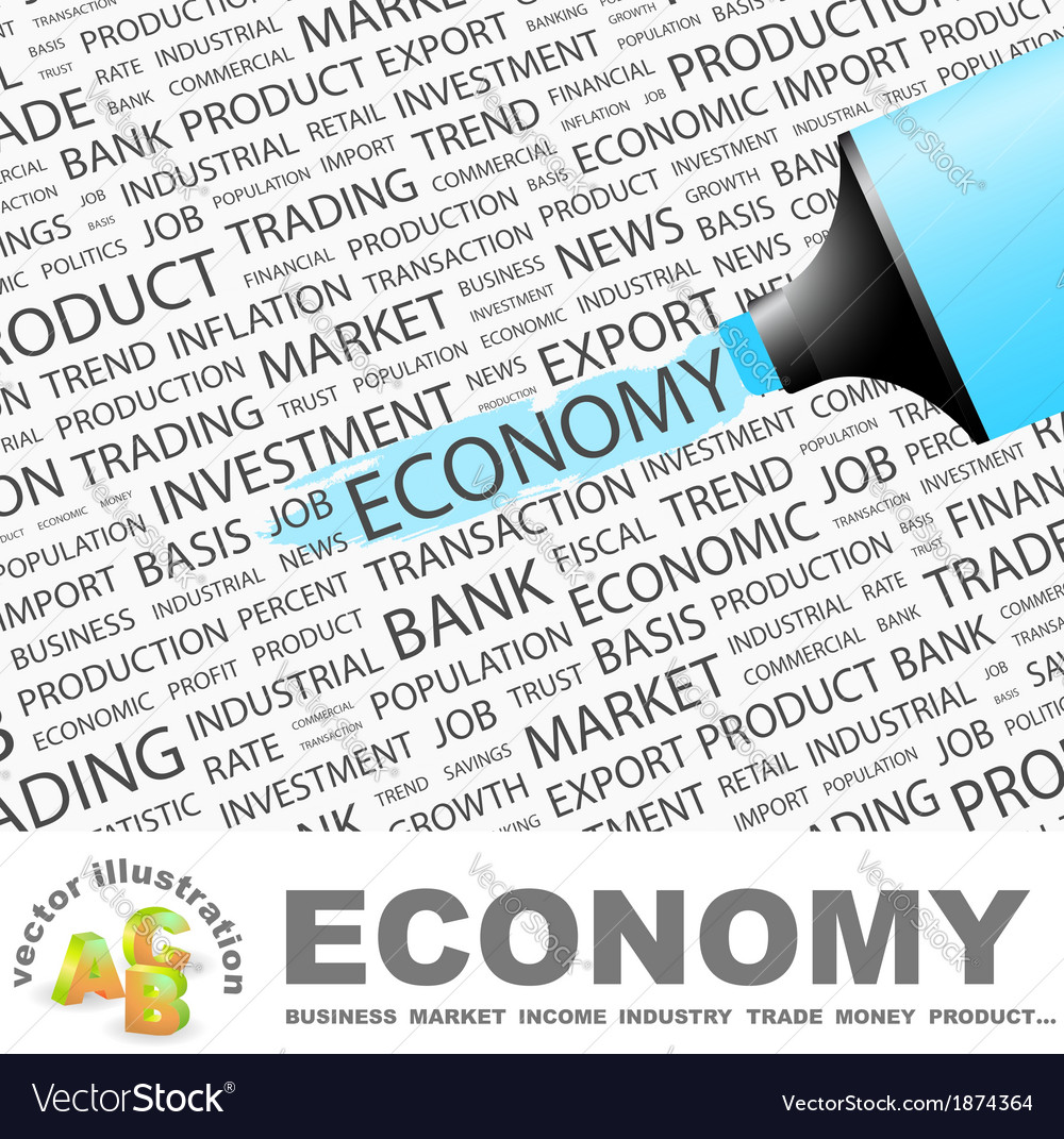 Economy vector | Price: 1 Credit (USD $1)