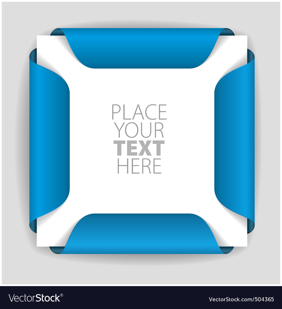 Blue card holder vector | Price: 1 Credit (USD $1)