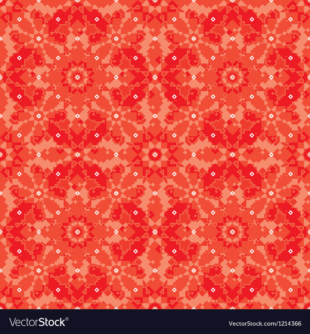 Geometric floral background vector | Price: 1 Credit (USD $1)
