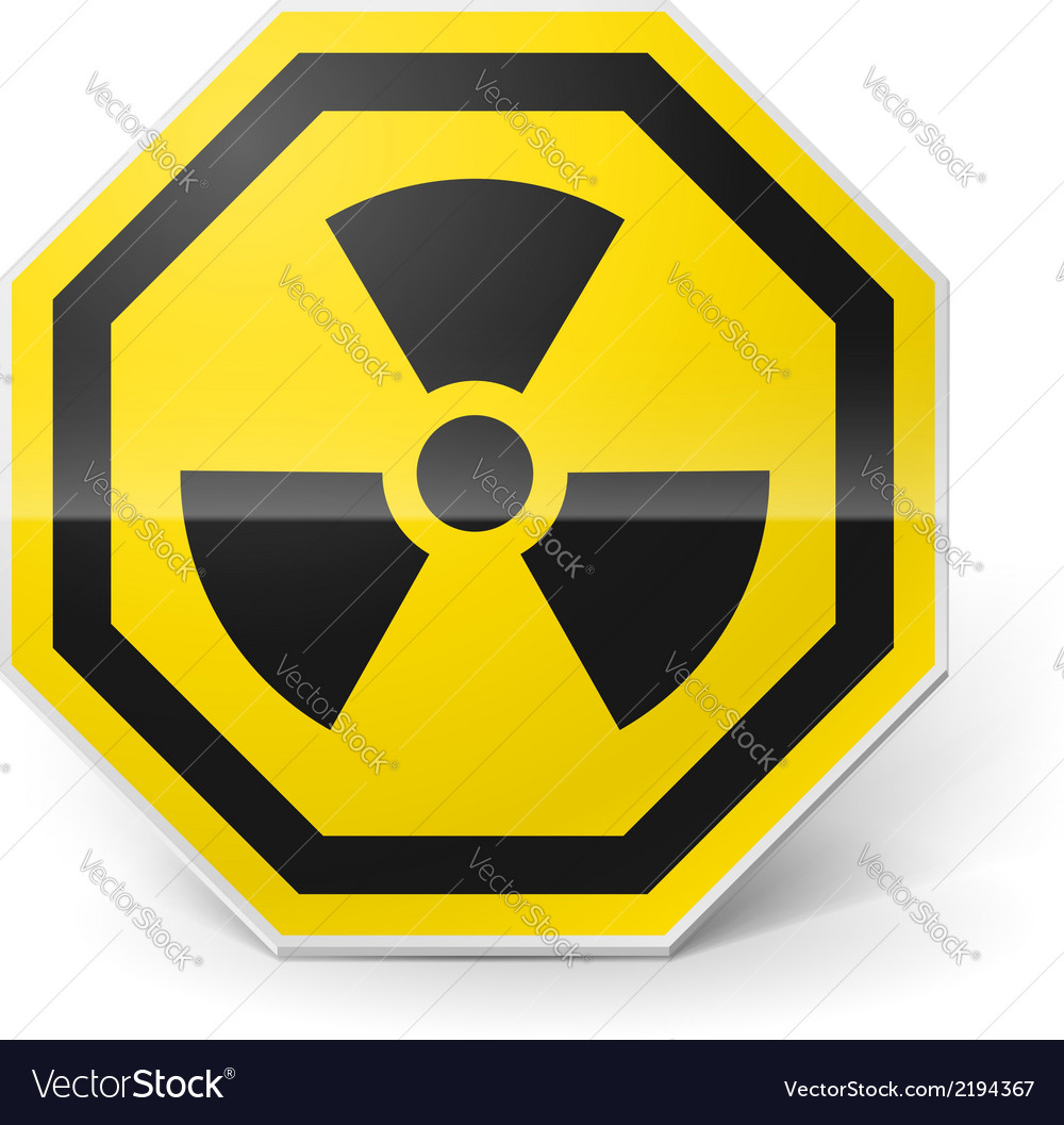 Radiation sign vector | Price: 1 Credit (USD $1)