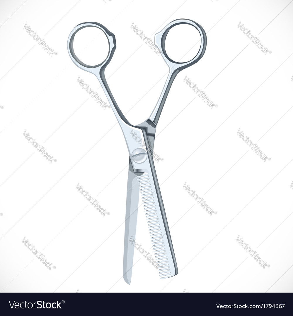 Scissors for cutting out vector | Price: 1 Credit (USD $1)