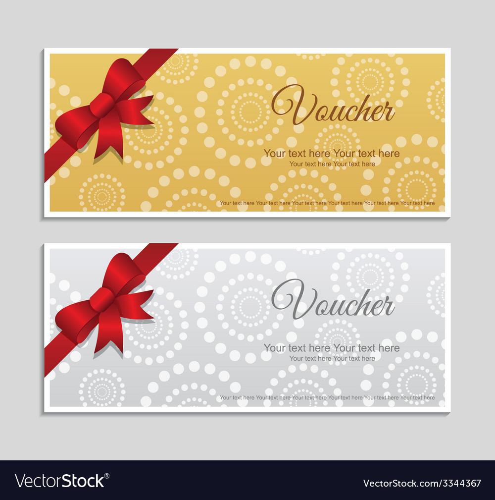 Voucher vector | Price: 1 Credit (USD $1)
