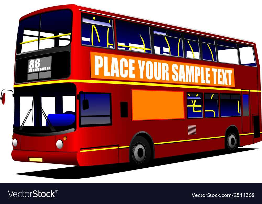 Al 1003 city bus vector | Price: 1 Credit (USD $1)