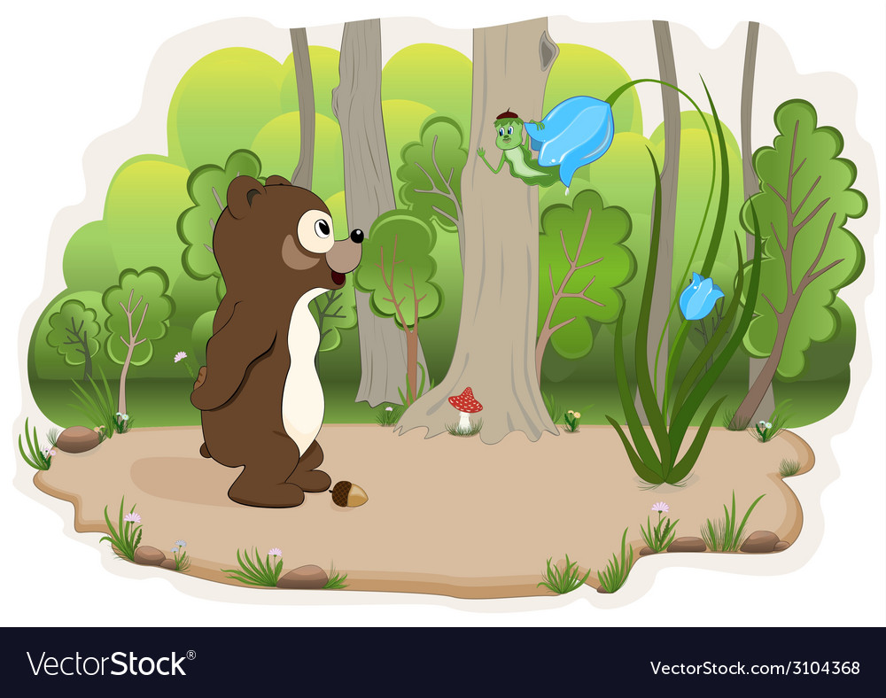 Conversation in wood vector | Price: 1 Credit (USD $1)